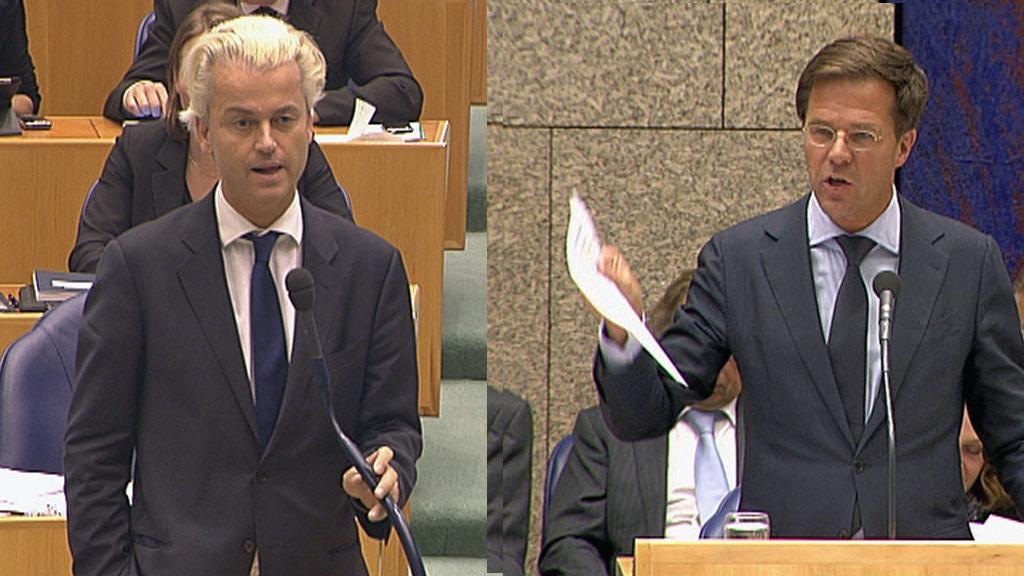 Wilders Rutte1